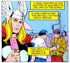 Thor has the best internal monologues.