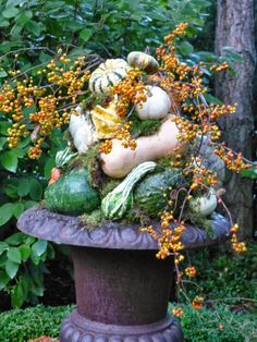 fall urns images - Google Search