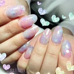Glitter infused acrylics