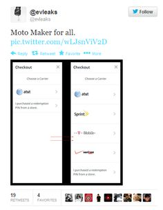 Report: Moto Maker Support will Extend To T-Mobile, Verizon