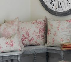 English Cottage Cushions. I got a lot of small coupons that I intend to use. love this.