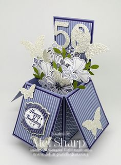 SUO Flower Shop Card In A Box by stampinandstuff - Cards and Paper Crafts at Splitcoaststampers