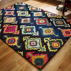 697f309e1ba Rugs For Sale Online with Free UK Delivery at The Rug Seller. Colorful  RugsMulticoloured ...