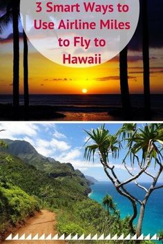 3 Smart Ways to Use Airline Miles to Fly to Hawaii - Want to use your airline miles to fly to Hawaii? Use this guide for 3 ways to get great value from your frequent flyer miles on a trip to Hawaii! Fly To Hawaii, Hawaii Travel, Travel Usa, Canada Travel, Travel Rewards, Travel Info, Travel Tips, Travel Hacks, Budget Travel
