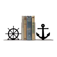 Old Man by the Sea Bookends