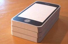 iPhone blocknote