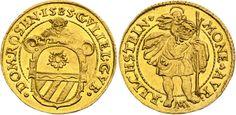 Austrian States/ Rosenberg AV Dukat 1585 Reichstein Mint Baron Wilhelm of Rosenberg 1581-92
