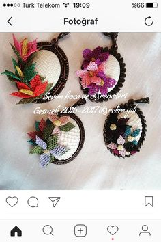 This post was discovered by Hü Lace Necklace, Point Lace, Needle Lace, Lace Flowers, Ribbon Embroidery, Needlepoint, Seed Beads, Knit Crochet, Diy And Crafts