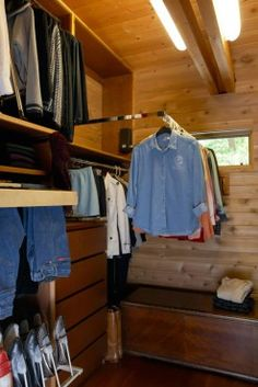 Pull Down Closet Rod And Pull Out Pant Rack From Rev A