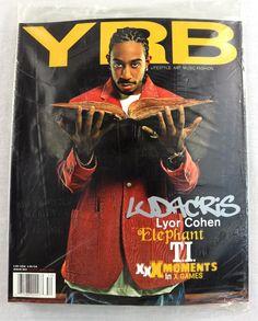 YRB Magazine March 2005 Ludacris #52 Art Music Fashion +Bonus CD Sealed RARE NEW Magazine Format, Ludacris, Types Of Jackets, Studio 54, Music Magazines, Cover Model, Art Music, March, In This Moment