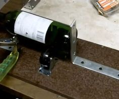 Make a Glass Bottle Cutter & How to Cut Wine Bottles for Cups