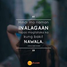Filipino Funny, Filipino Quotes, Pinoy Quotes, Tagalog Love Quotes, Hugot Lines Tagalog Funny, Tagalog Quotes Hugot Funny, Memes Tagalog, Pick Up Lines Tagalog, Tagalog Quotes Patama