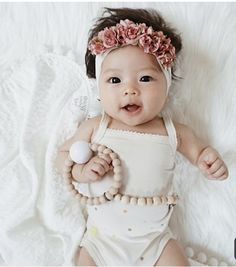 Baby diy girl head bands 15 new ideas Cute Asian Babies, Korean Babies, Cute Babies, Korean Girl, Babies Stuff, New Baby Girls, Diy For Girls, Baby Girl Newborn, Toddler Girls