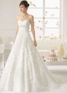 Aire Barcelona Wedding Dresses 2015 - MODwedding