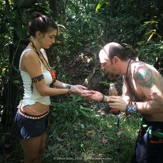Cleansing prior to working in the Kambo Ceremony