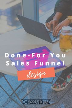 A complete done-for-you sales funnel designed to meet your most basic or advanced needs so you can focus on what matters most in your business. Plus, integrate all of the moving parts like Facebook Ads, sales copy, landing page design and more - then you definitely want to click through to learn more! via @CaressaLenae | Sales Funnel + Business Strategist + Mompreneur image courtesy of wocintech.com
