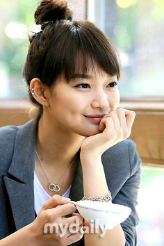 The most beautiful Korean actress ever. Shin min ah.