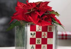 Decoración Navidad - Centro de Mesa Hecho en Casa