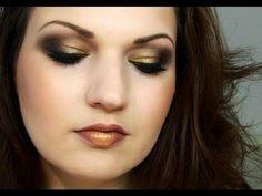 Bronze ombre  makeup? Love it.