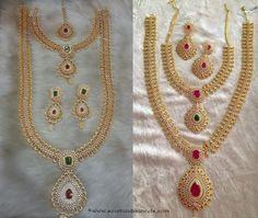 American Diamond Wedding Jewellery Sets from SIIMA Jewels
