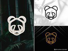 Panda logo by Graphicever