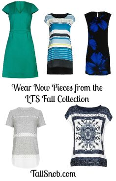 Wear Now Pieces from Long Tall Sally's New Fall Collection - Tall Snob