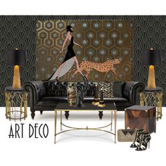 Art Deco...All the very best for 2015 Polyfriends by gloriettequartet on…