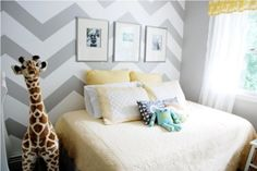 yellow grey nursery by tandish
