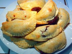 """Tasty Pumpkin Empanadas (An Authentic Mexican Pastry)! 4.82 stars, 12 reviews. """"This recipe is one of the better empanada recipes that I have tried...the crust turns out perfectly flaky, not like the rubbery crusts that you find at a panderia (Mexican bakery). My whole family loved these and they gobbled them up! Perfect Thanksgiving time treat...or anytime for that matter!"""" @allthecooks #recipe #dessert #easy #christmas #thanksgiving #empanadas"""