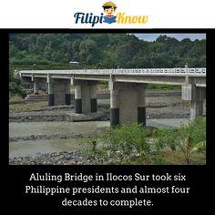 Aluling Bridge in Ilocos Sur Ilocos, Blow Your Mind, Pinoy, Trivia, Philippines, Bridge, Facts, Amazing, Quizes