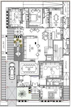 Simple House Plans, My House Plans, House Layout Plans, Family House Plans, House Layouts, Planner Board, Villa Plan, Classic House Design, Amazon Home Decor