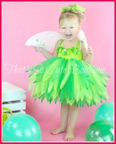 Tinkerbell Inspired Tutu Dress Set