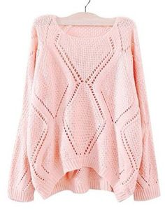 sweater pastel pink pink cute cute sweaters