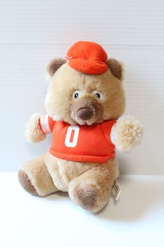 WHATABEAR from WHATABURGER,Vintage Bear in Orange Shirt, vintage Restaurant toy, vintage Promotional bear, vintage Advertising toy,Texas toy by TheJellyJar on Etsy