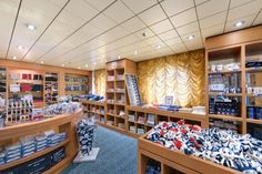 #Dutyfree is the hub of MSC Armonia's #shopping area thanks to competitive prices and huge selection, especially for tobacco and spirits.  There are also dedicated areas for #accessories and #jewelry.