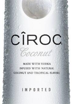 CIROC COCONUT VODKA #tableandvine