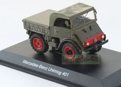 1/43 Mercedes Benz Unimog 401 car Model Diecast green #Model