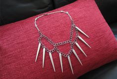 SPIKED NECKLACE DIY | MY WHITE IDEA DIY