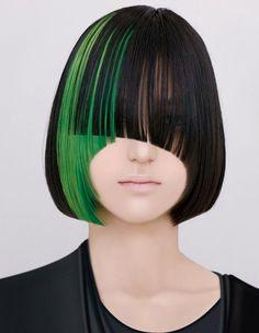 Love green hair
