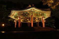 Temple close to the Seoul Tower.