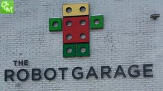 """Review and pics of The Robot Garage in Birmingham MI - The Robot Garage is a """"warehouse/garage"""" style facility that holds engineering, robotics, creation/building type classes for kids. http://oaklandcountymoms.com/robot-garage-birmingham-review-pics-43451/"""