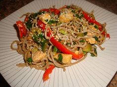 Another healthy Asian influenced salad!