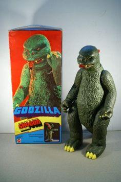 Mattel Godzilla Shogun Warrior 1977