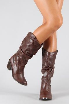 Cowgirl Boots! One of my favorites, they are cute, comfy and sexy all in one.