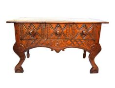 19th. Century Hall Table (Central American)