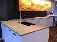 Comptoir de béton, conception de comptoir - Trois-rivière |ATELIER ALLARD INC