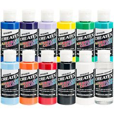 8 Oz Pearl White Fast Deliver Createx Colors Paint For Airbrush