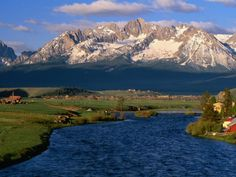 Stanley, Idaho: Stanley Idaho is a Gateway to the Sawtooth Mountains and the Frank Church River of No Return Wilderness and the beginning of the Salmon River. Momentum River Expeditions
