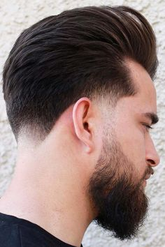 Every Question You Might Want To Ask About A Beard Fade Answered Long Faded Beard Low Fade Mens Haircut, Mens Hairstyles Fade, Haircuts For Men, Medium Hairstyles, Wedding Hairstyles, Faded Beard Styles, Long Beard Styles, Hair And Beard Styles, Low Fade Long Hair