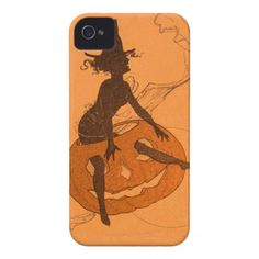 Witch Jack O Lantern Pumpkin iPhone 4 Covers